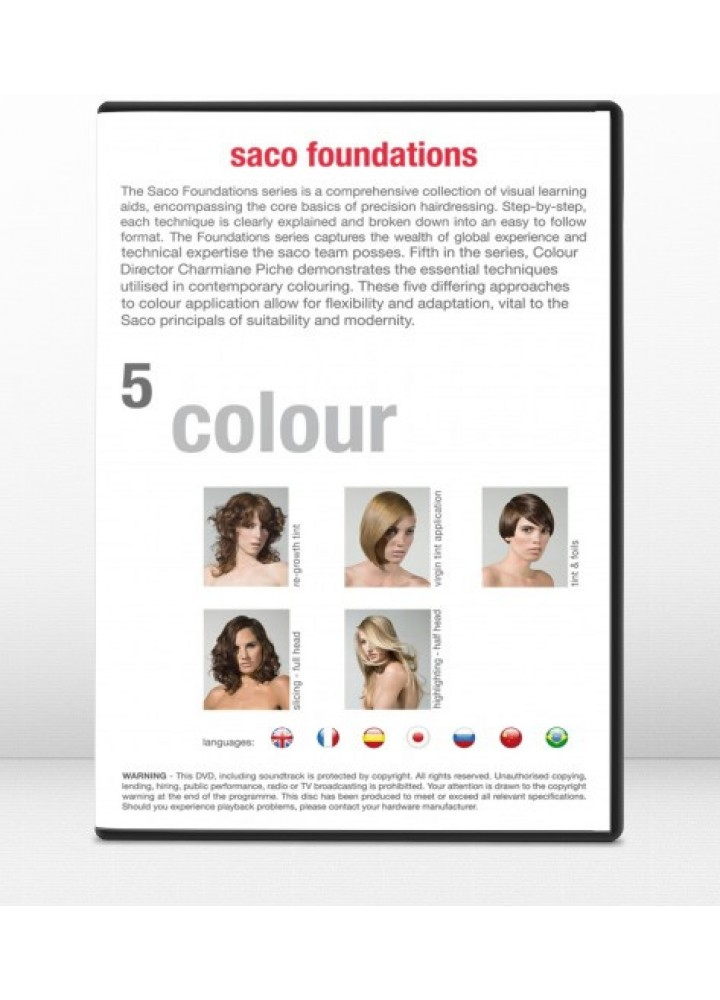 Colors Foundations, DVD 5 Saco Hair