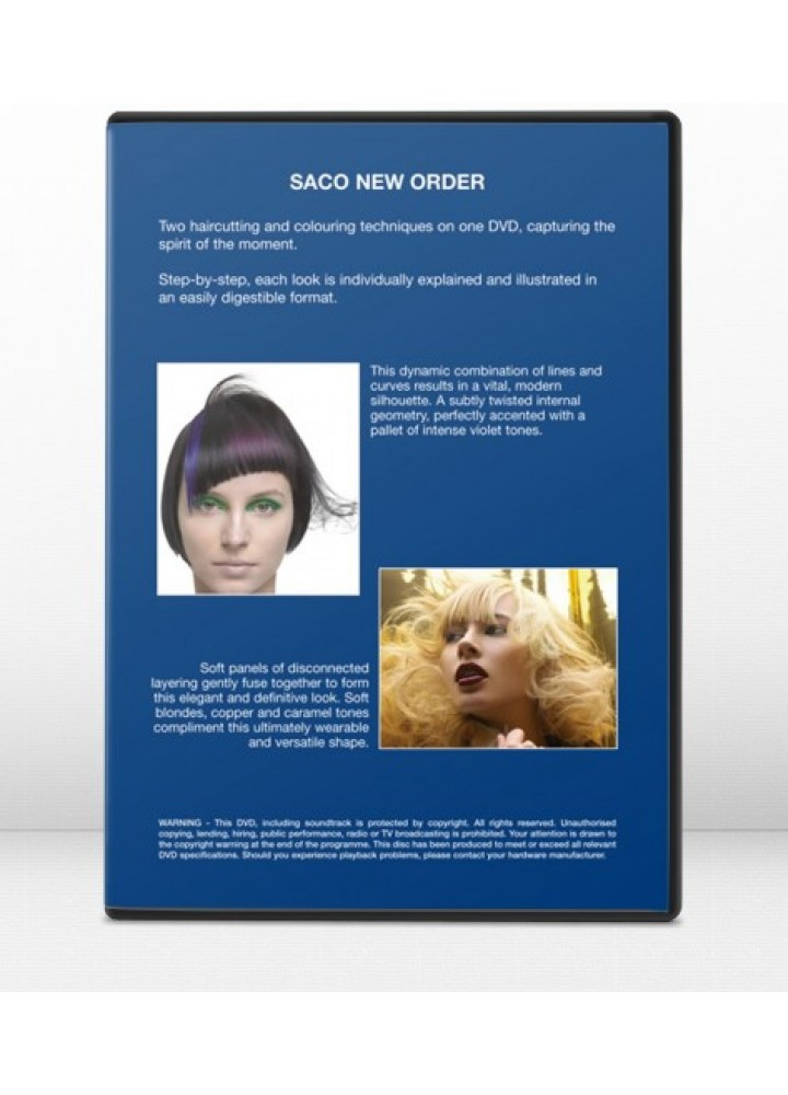 SACO NEW ORDER – DVD 4 SACO HAIR