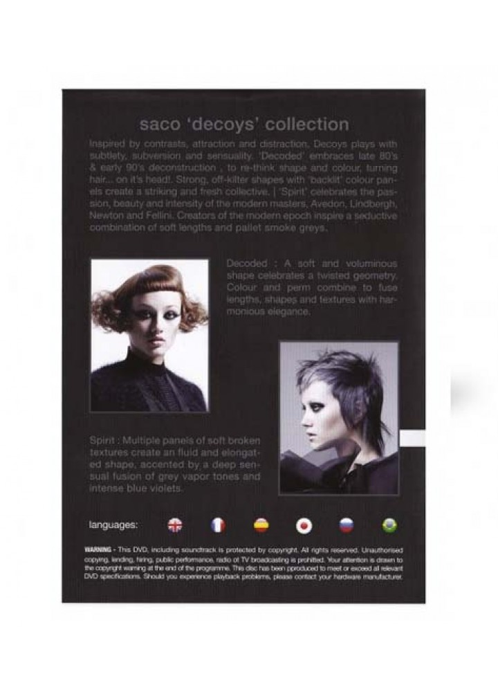 Decoys Collection 2015 – DVD 14 Saco Hair