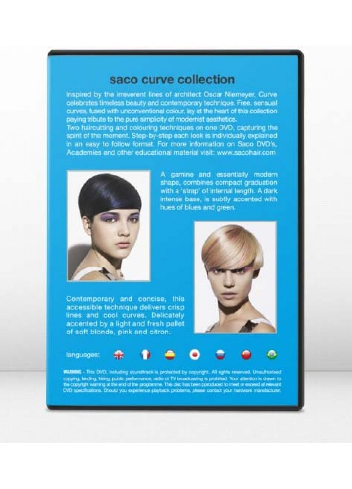 CURVE COLLECTION 2011 – DVD 9 SACO HAIR