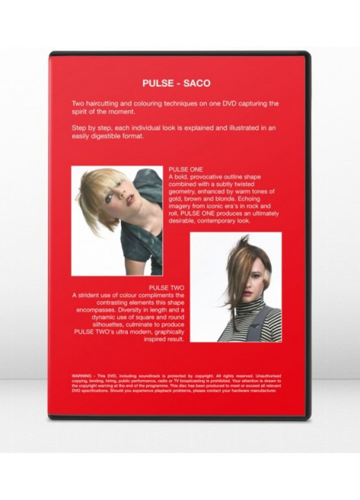 SACO PULSE – DVD 3 SACO HAIR