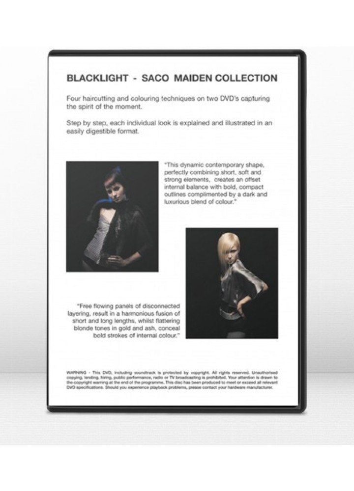 BLACKLIGHT COLLECTION 2004- DVD 2 SACO HAIR
